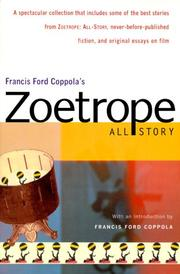 Cover of: Francis Ford Coppola's Zoetrope all story