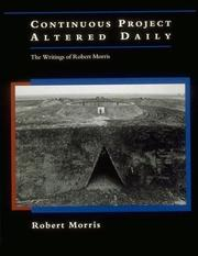 Cover of: Continuous Project Altered Daily | Robert Morris