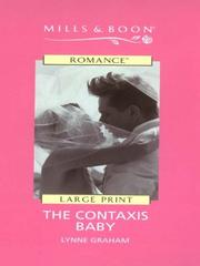 Cover of: The the Contaxis Baby (Romance) | Lynne Graham