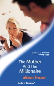 Cover of: The Mother and the Millionaire