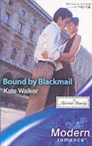 Cover of: Bound by Blackmail