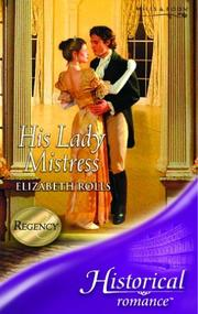 Cover of: His Lady Mistress