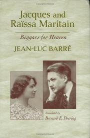 Cover of: Jacques and Raïssa Maritain