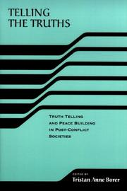 Cover of: Telling the Truths