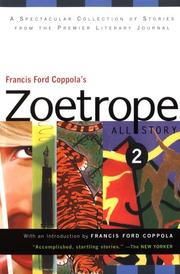 Cover of: Francis Ford Coppola's Zoetrope all-story 2