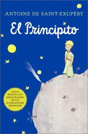 Cover of: El principito (Spanish)