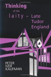 Cover of: Thinking of the laity in late Tudor England