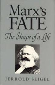 Cover of: Marx's fate