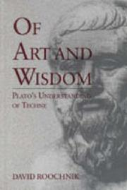 Cover of: Of art and wisdom | David Roochnik