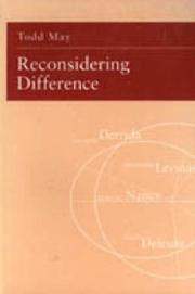 Cover of: Reconsidering difference
