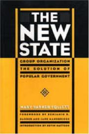 Cover of: The New State | Follett, Mary Parker