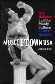 Cover of: Muscletown USA