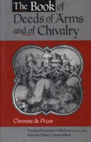 Cover of: The book of deeds of arms and of chivalry