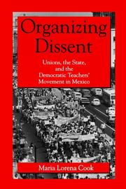 Cover of: Organizing dissent