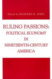 Cover of: Ruling Passions