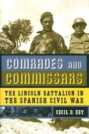Cover of: Comrades And Commissars