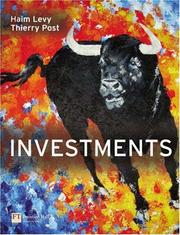 Cover of: Investments | Haim Levy