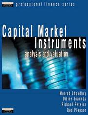 Capital Market Instruments by Moorad Choudhry