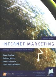 Cover of: Internet Marketing: Strategy, Implementation and Practice