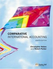 Cover of: Comparative International Accounting (8th Edition) | Christopher Nobes