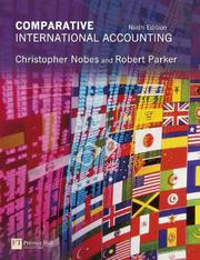Cover of: Comparative international accounting |