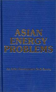 Cover of: Asian Energy Problems | Asian Development Bank Staff