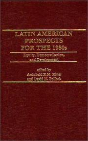 Latin American Prospects for the 1980s by