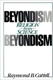 Cover of: Beyondism: religion from science