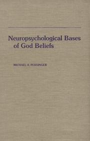 Cover of: Neuropsychological bases of God beliefs