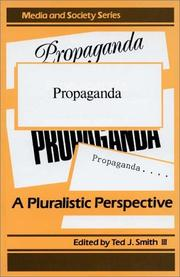 Cover of: Propaganda | Ted J. Smith