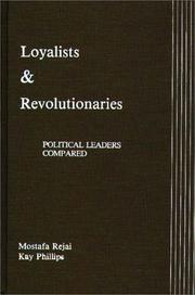 Cover of: Loyalists & revolutionaries
