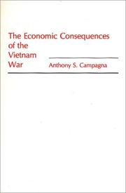 Cover of: The economic consequences of the Vietnam war