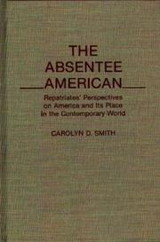 Cover of: The absentee American
