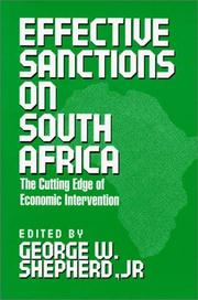 Cover of: Effective sanctions on South Africa |