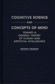 Cover of: Cognitive science and concepts of mind