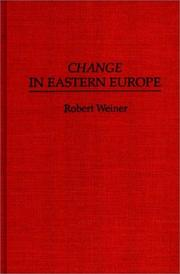 Cover of: Change in Eastern Europe