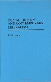 Cover of: Human dignity and contemporary liberalism