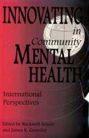 Cover of: Innovating in Community Mental Health |