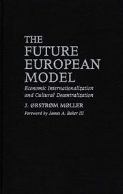 Cover of: The future European model