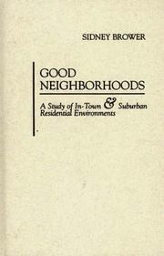 Cover of: Good neighborhoods