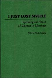 Cover of: I just lost myself