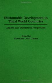 Cover of: Sustainable Development in Third World Countries