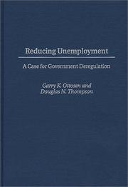 Cover of: Reducing unemployment
