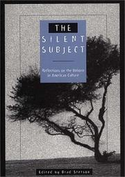 Cover of: The Silent Subject