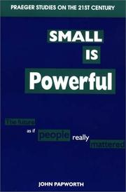 Cover of: Small is powerful
