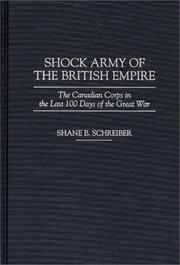 Cover of: Shock army of the British Empire