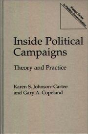Cover of: Inside political campaigns