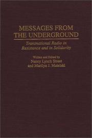 Cover of: Messages from the underground