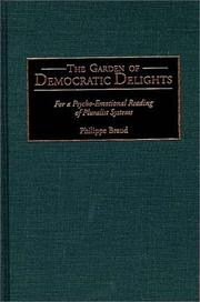 Cover of: The garden of democratic delights
