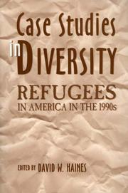 Cover of: Case Studies in Diversity | David W. Haines